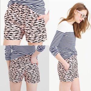 J. Crew Minnow print shorts